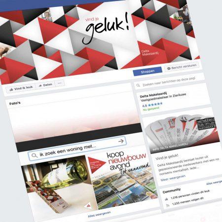 Delta Makelaardij Top Of Mind Facebook