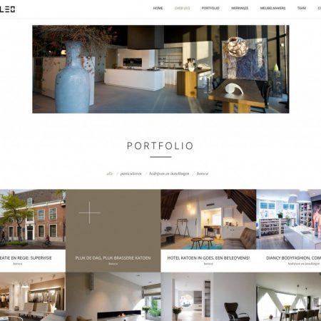 Leo Interieurgroep Website