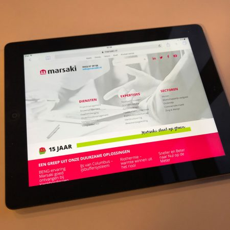 Marsaki Website Golife 5 Homepage