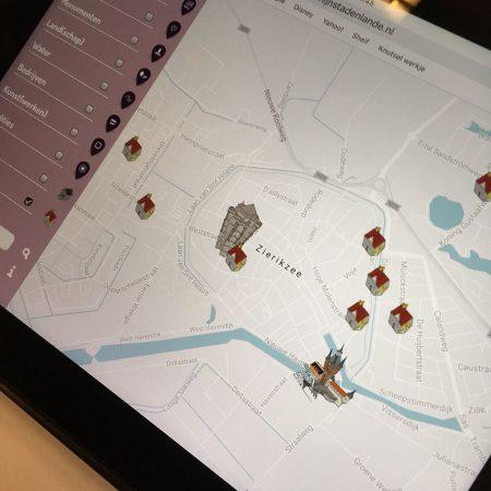 Mijnstadenlande Website Kaart