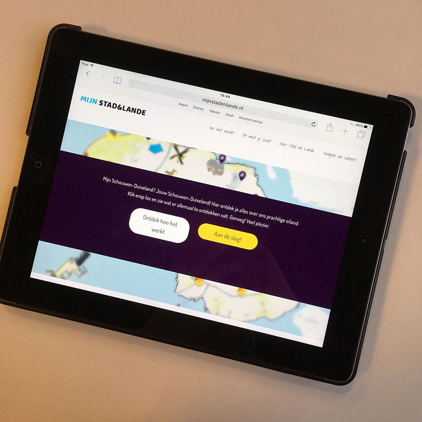 platform vol interactie op mijnstadenlande.nl