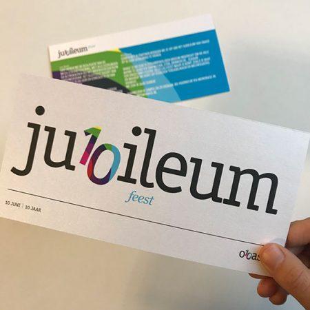 Obase Jubileum Mailing Groot